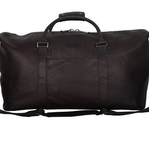 Kenneth Cole leather weekender